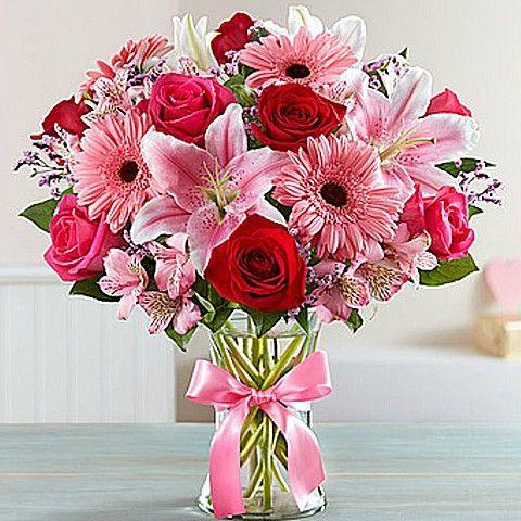 Get Well Flower Bouquet