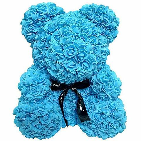 Roses Teddy Bear for Delivery