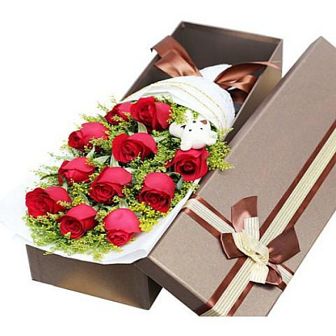 flowers in a box delivery